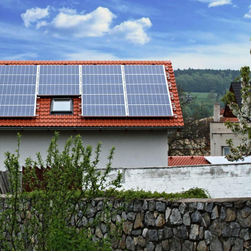 On-grid FVE 10,6 kWp, Ochoz u Brna