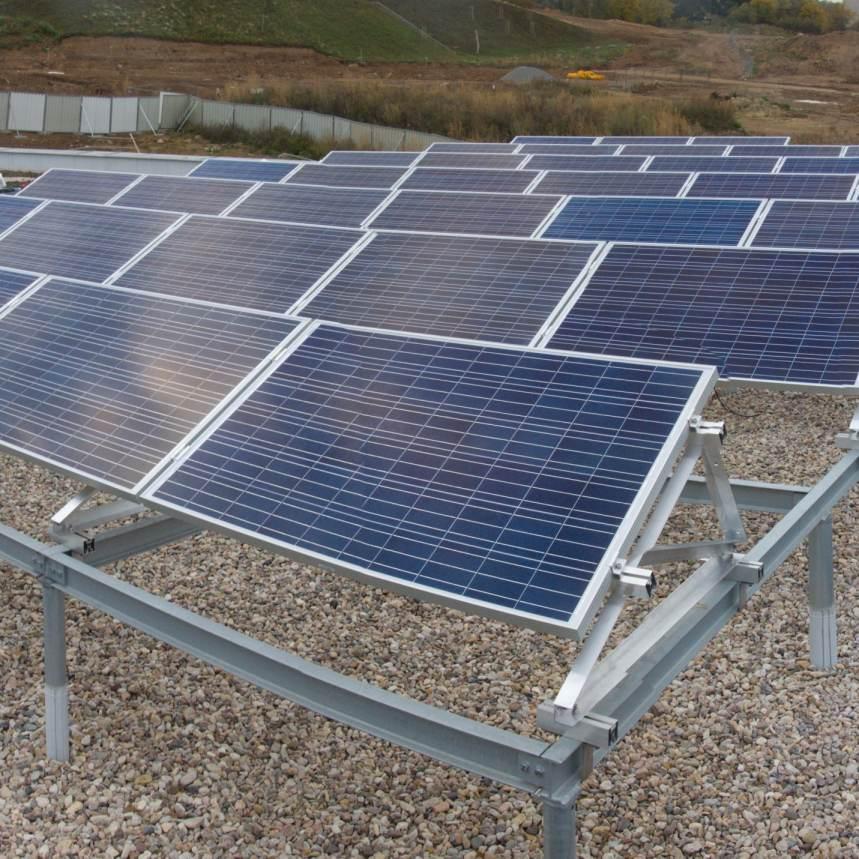 Fotovoltaická on-grid elektrárna pro výuku a testování