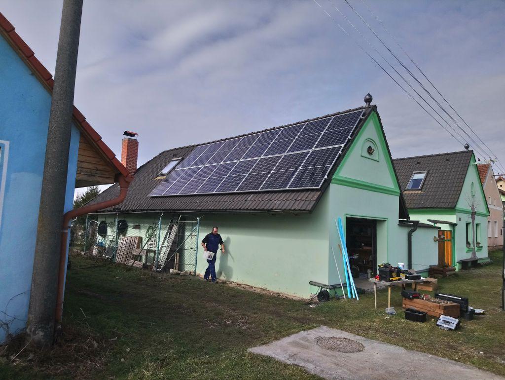 Hybridní systém 5,2 kWp